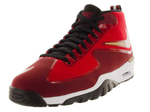 Nike Men's Air Untouchable Vapor Training Shoe-Gym Red/Metallic Gold