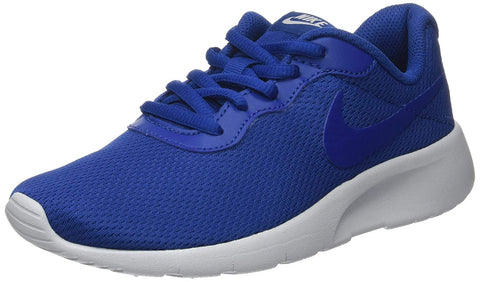 Nike Youth Tanjun Training Running Shoes-Gym Blue