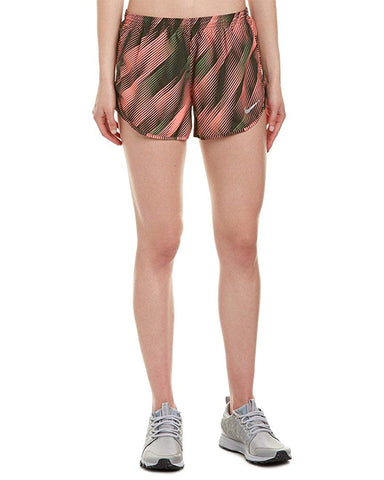Nike Women's Dri-Fit Modern Tempo Running Shorts-Lava Glow/Sequoia