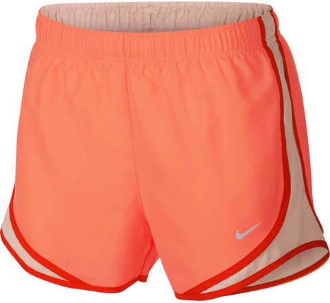 Nike Women's Dri-Fit Tempo Running Shorts-Crimson Pulse/Crimson Tint