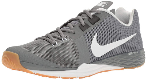 Nike Men's Train Prime Iron DF Cross Training Shoes-Cool Grey/White