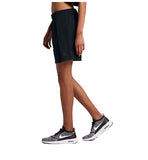 Nike Women's Bonded Woven Sport Casual Shorts-Black