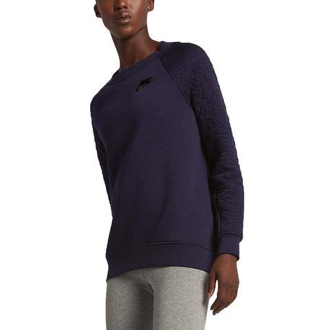 Nike Women's Sportswear Rally Crew Sweatshirt-Purple