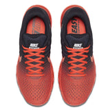 Nike Men's Air Max 2017 Running Shoes-Bright Crimson/Total Crimson