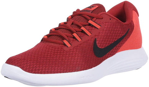 Nike Men's LunarConverge Running Shoes-Dark Cayenne/Black