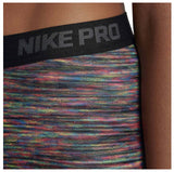 Nike Women's Hyperwarm Brushed Training Tights-Black/Multi Color