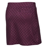 Nike Women's Golf Dri-Fit Cross Print Skort-Bordeaux