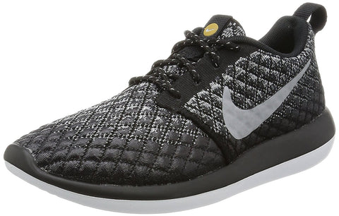 Nike Women's Roshe Two Flyknit 365 Sneaker Shoes-Wolf Grey/Wolf Grey-Black