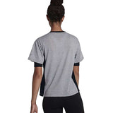 Nike Women's Dri-Fit Breathe Training Top-Heather Grey