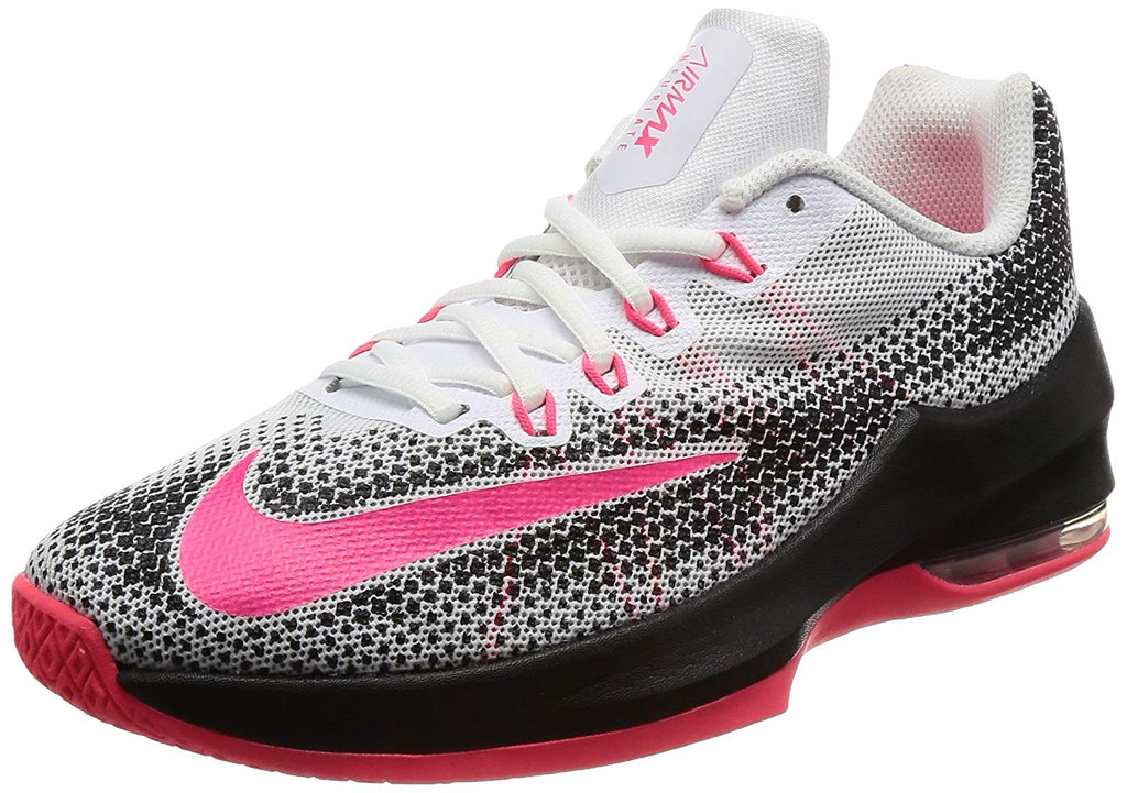 brand new 85fd2 77c8a White Racer Pink Black. White Racer Pink Black Nike Girl s Air Max Infuriate  ...