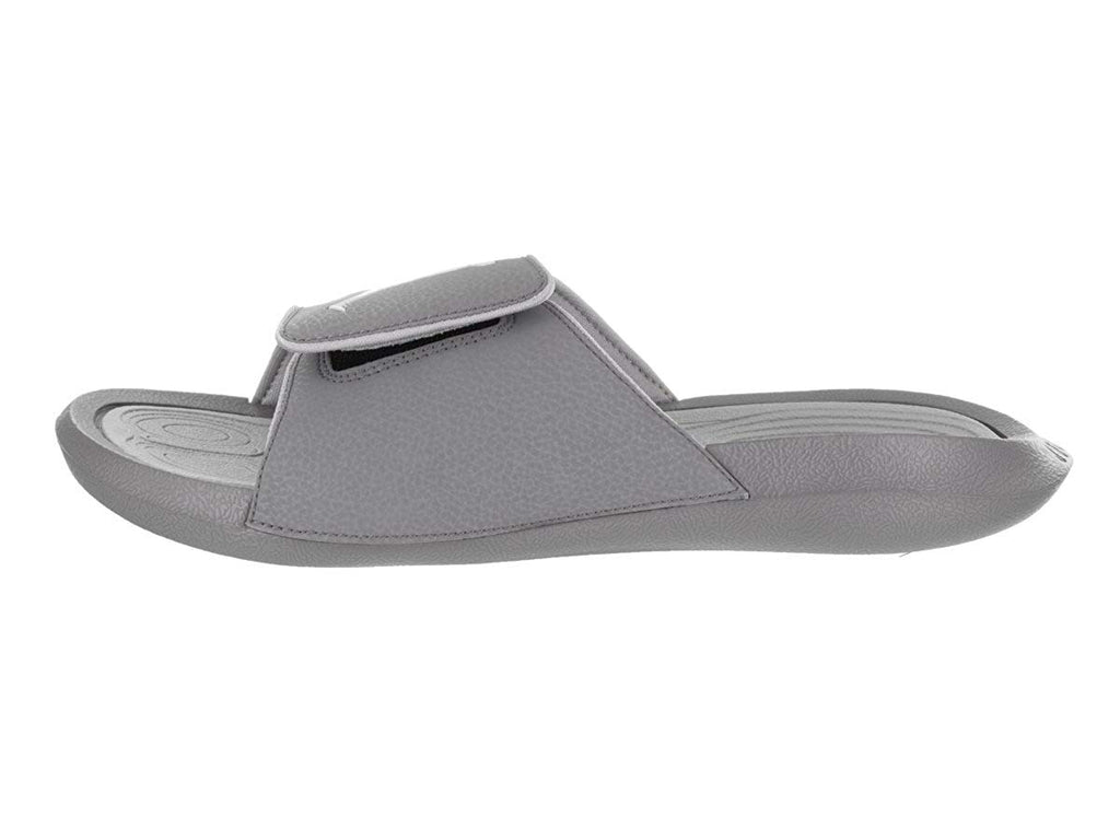 online retailer 8b0d6 a5bd4 Cool Grey/White; Jordan Men's Nike Hydro 6 Sandals-Cool Grey/White ...