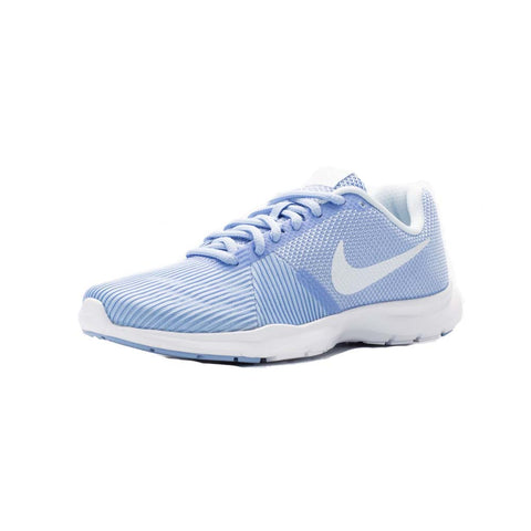 Nike Women's Flex Bijoux Training Shoes-Aluminum/White