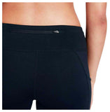 Nike Women's Tight Racer Running Crop Pants-Black