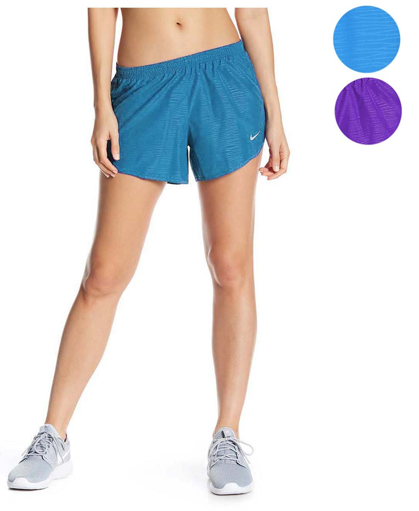 Nike Women S Dri Fit Modern Embossed Tempo Running Shorts Webzom Unfollow womens dri fit shorts to stop getting updates on your ebay feed. nike women s dri fit modern embossed