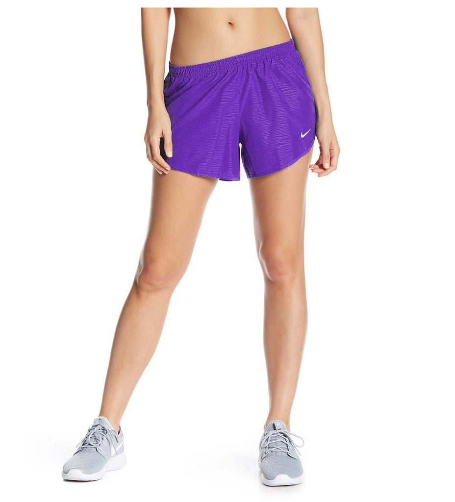 Nike Women's Dri-Fit Modern Embossed Tempo Running Shorts