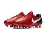 Nike Men's Tiempo Legend VII FG Soccer Shoes-University Red/White
