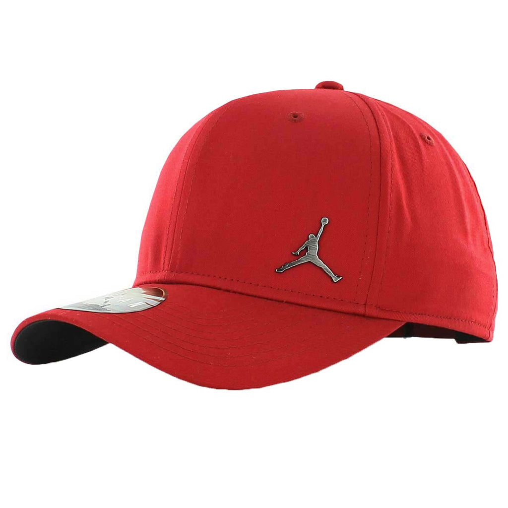Gym Red  Jordan Adult Unisex Classic 99 Metal Jumpman Adjustable Hat Cap-Gym  Red  Jordan Adult Unisex Classic ... 6764b672b9c4