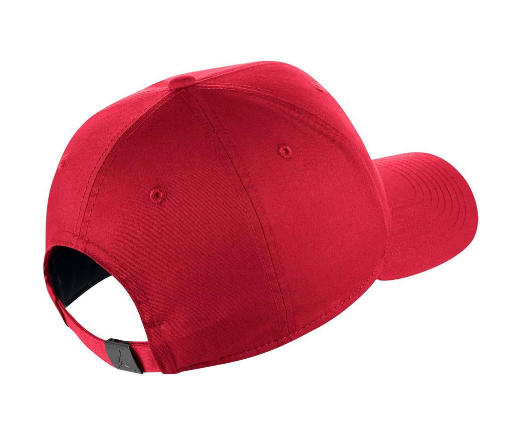 ... Jordan Adult Unisex Classic 99 Metal Jumpman Adjustable Hat Cap-Gym Red  ... 259f93305281