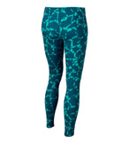 Nike Big Girls' (7-16) Allover Print Training Leggings-Green