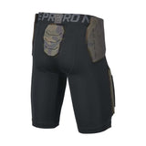Nike Boy's (7-16) Pro Hyperstrong Core Football Shorts-Black/Dark Grey