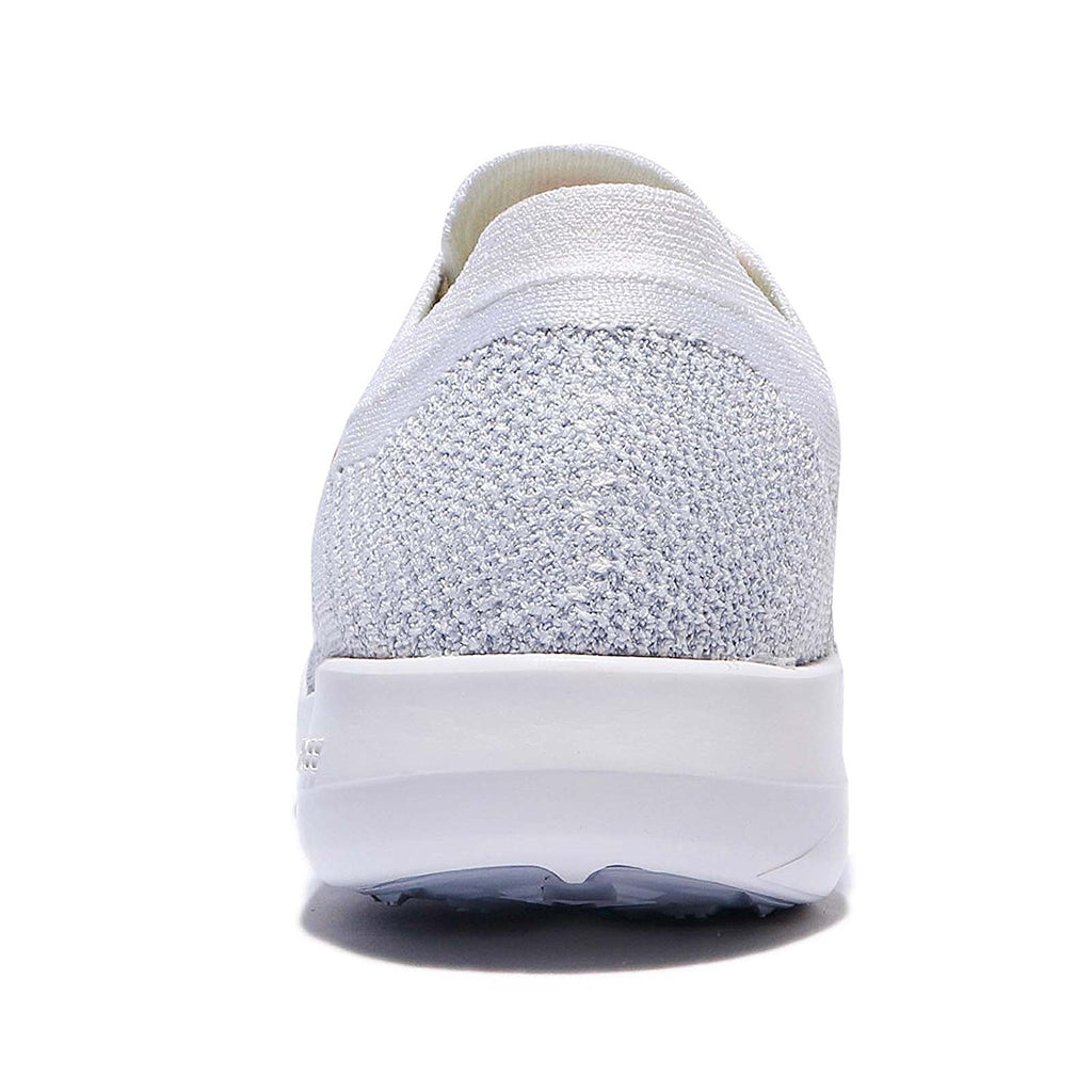 Nike Women's Free TR Flyknit 2 Nylon Running Shoes-White/Hyper Punch Wolf Grey