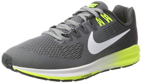 Nike Men's Zoom Structure 21 Running Shoes-Cool Grey/White/Antracite