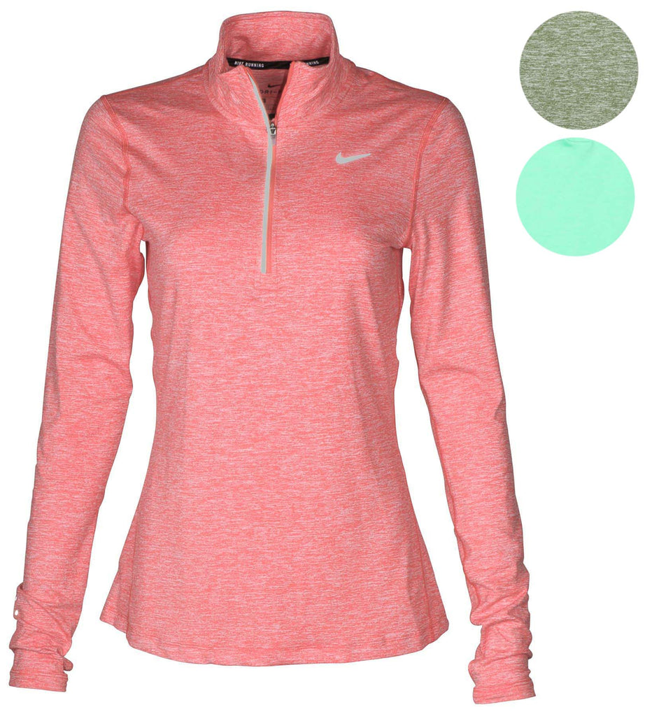 Nike Women's Dri-Fit Element 1/2 Zip Running Shirt