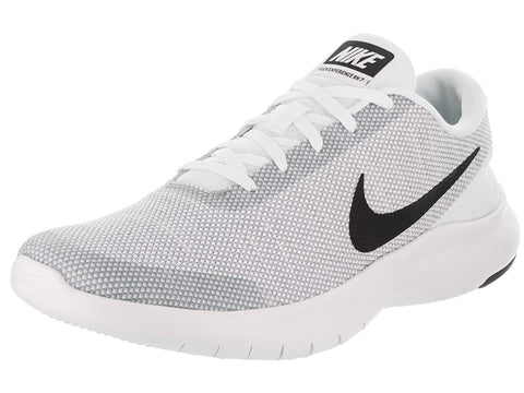 Nike Men's Flex Experience RN 7 Running Shoes-White/Black/Wolf Grey