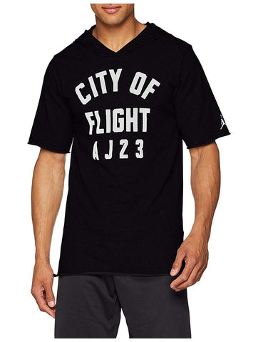 Jordan Men's Nike City Of Flight Sportswear Hoodie-Black