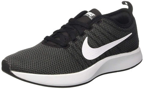 Nike Women's Dualtone Racer Running Shoes-Black/White/Dark Grey