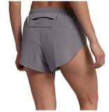 Nike Women's Hi-Cut Running Division Shorts-Gunsmoke