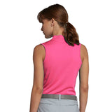 Nike Women's Blade Collar Sleeveless Golf Polo-Sunset Pulse