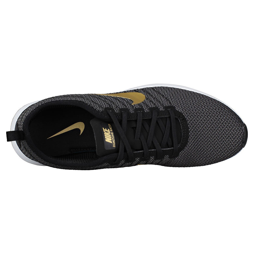 Nike Women's Dualtone Racer Running Shoes-Black/Metallic Gold