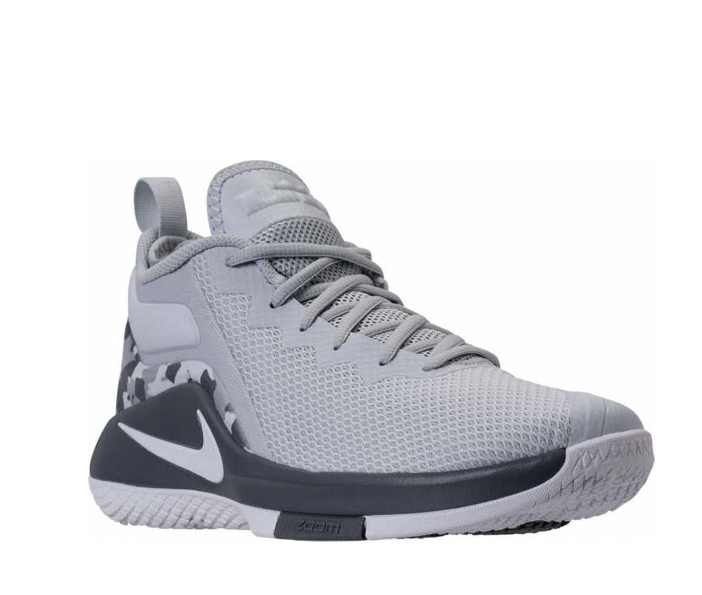 on sale 83e56 a7d3c ... Nike Men s Lebron Witness II Basketball Shoes-Pure Platinum White Cool  ...