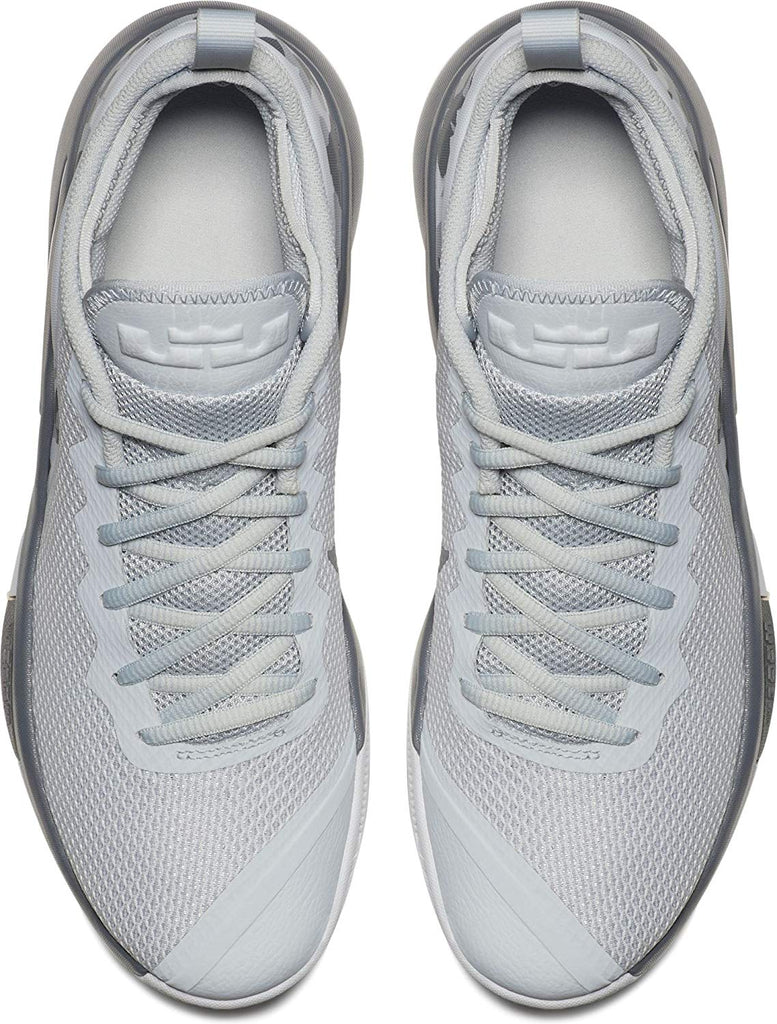 factory authentic 99044 bfd20 ... Grey  Nike Men s Lebron Witness II Basketball Shoes-Pure Platinum White Cool  ...