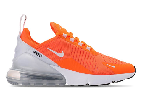 Nike Women's Air Max 270 Running Shoes-Total Orange/White