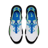 Nike Men's Air Huarache Drift Running Shoes-White/Black/Blue Nebula