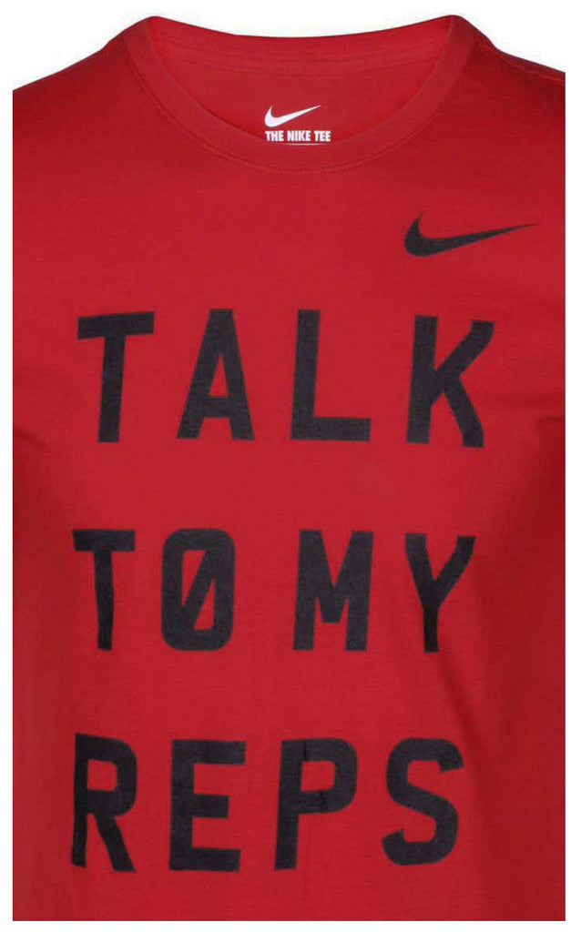 Nike Men's Talk To My Reps T-Shirt