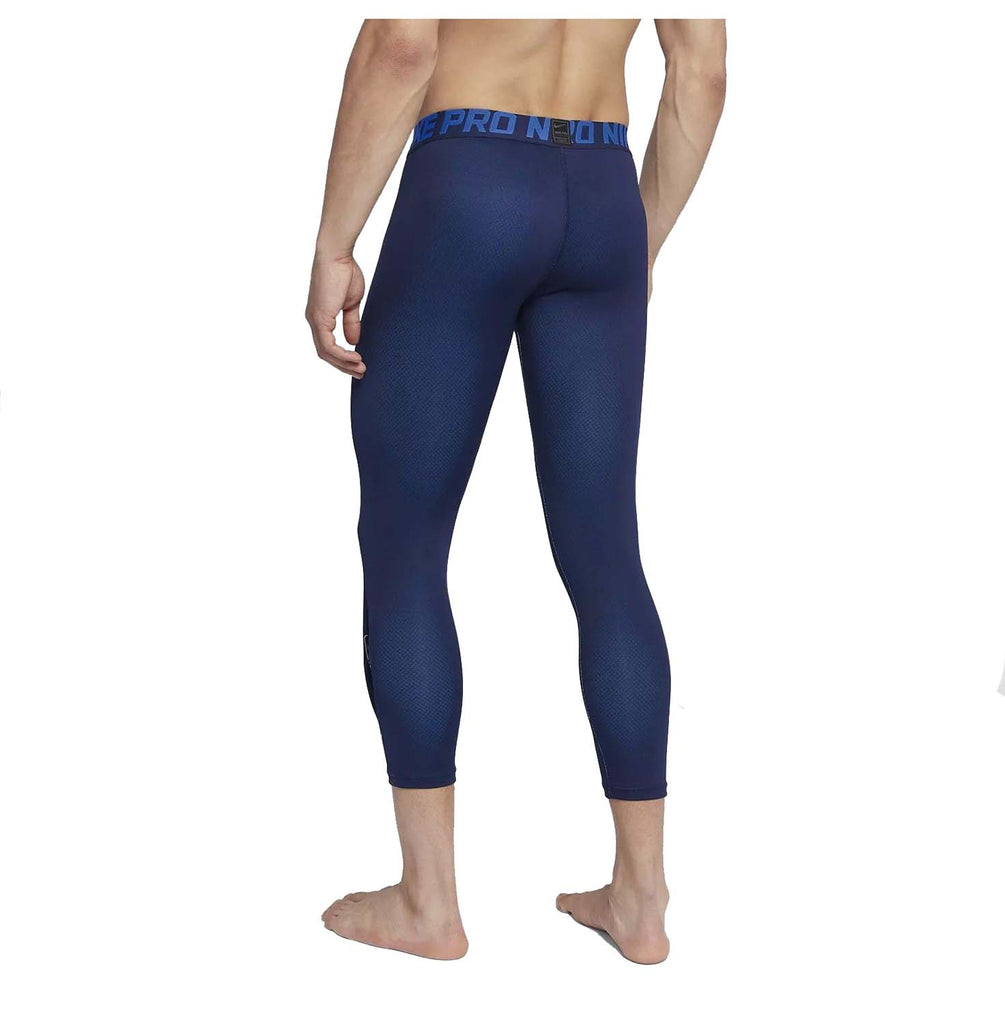 Nike Men's Colorburst 3/4 Training Tights-Navy
