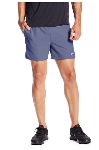 Nike Men's Dri-Fit Flex 5' Running Shorts-Stone Blue