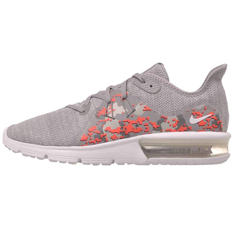 Nike Women's Air Max Sequent 3 C Running Shoes-White/Vast Grey