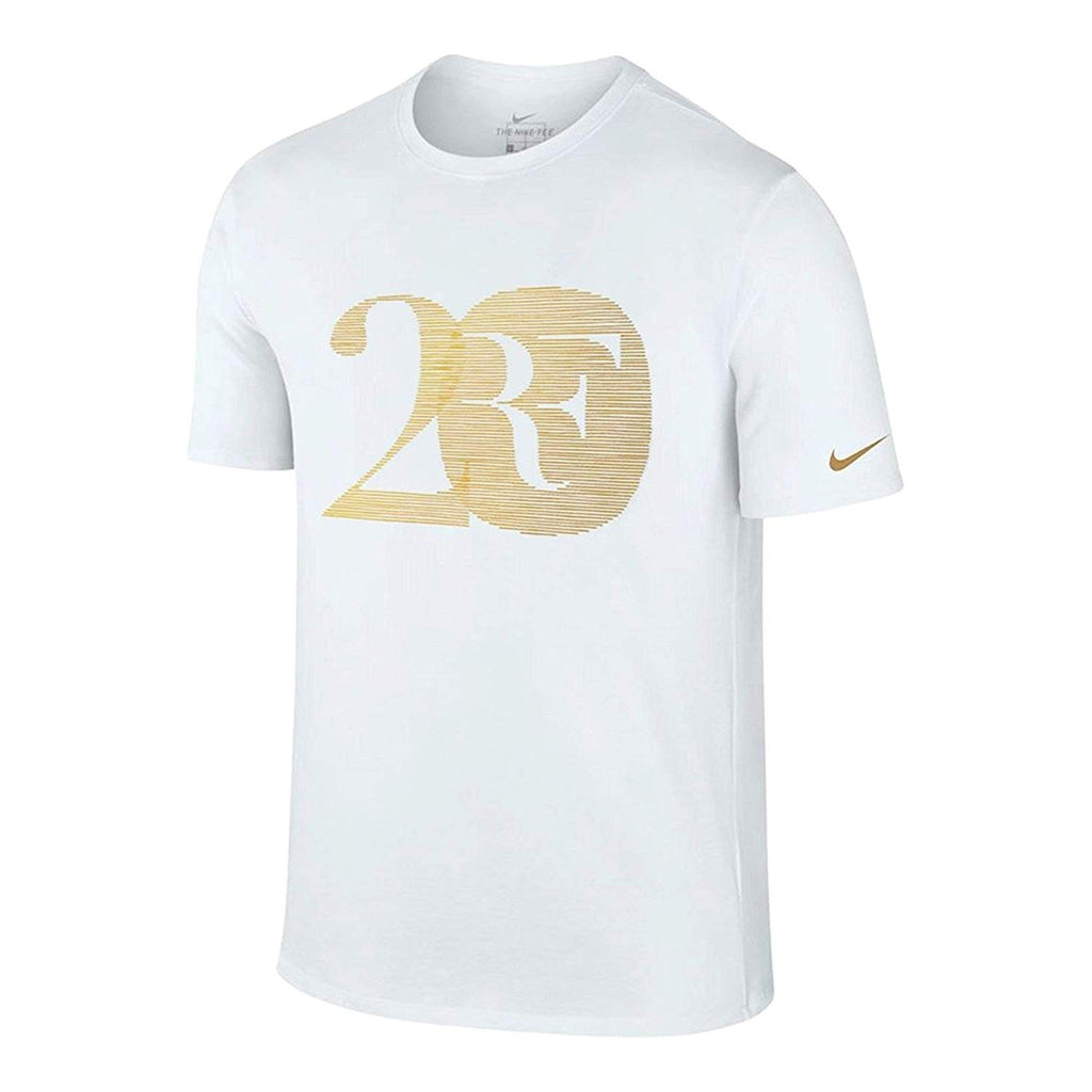 95a8cb74 ... Nike Men's Court Roger Federer 20 Celebration T-Shirt-White. White ...