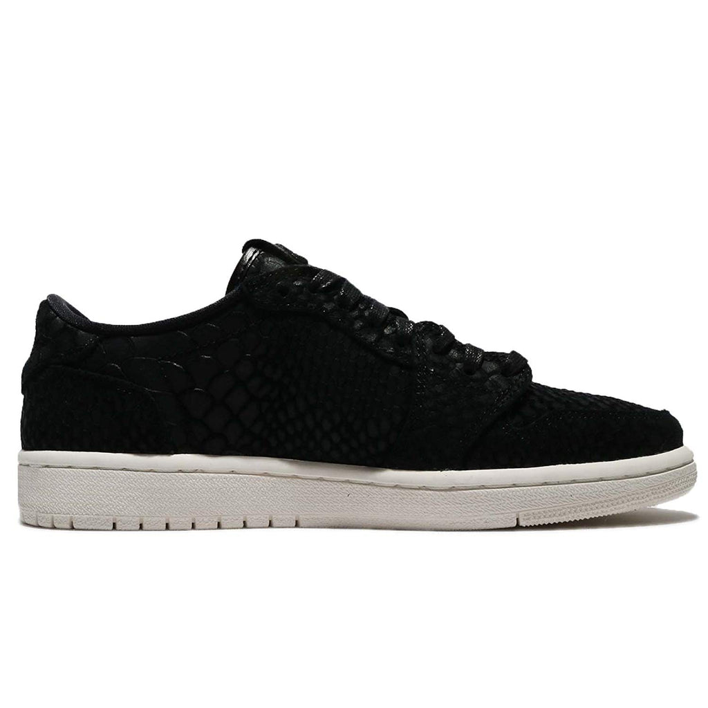 Jordan Women's Nike Retro 1 AJ Lo Sneakers-Black/Sail