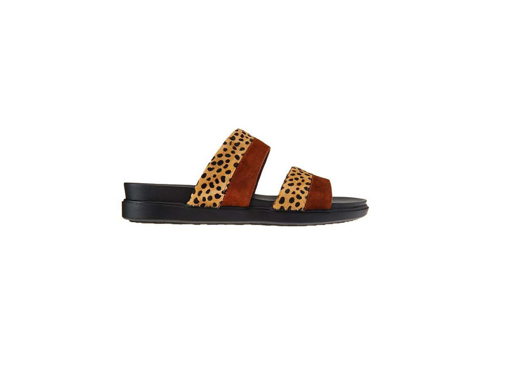 Logo by Lori Goldstein Annie Two Toned Media Strap Sandals