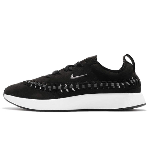 Nike Men's Dualtone Racer Woven Running Shoes-Black/Dark Grey