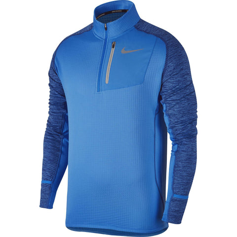 Nike Men's Therma Sphere Element Running Top-Photo Blue
