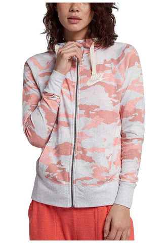 6f2e26480707 Nike Women s Gym Vintage Camo Printed Hoodie-Bleached Coral