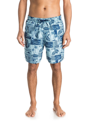Quiksilver Men's Waterman Collection South Bay Board Shorts-Estate Blue