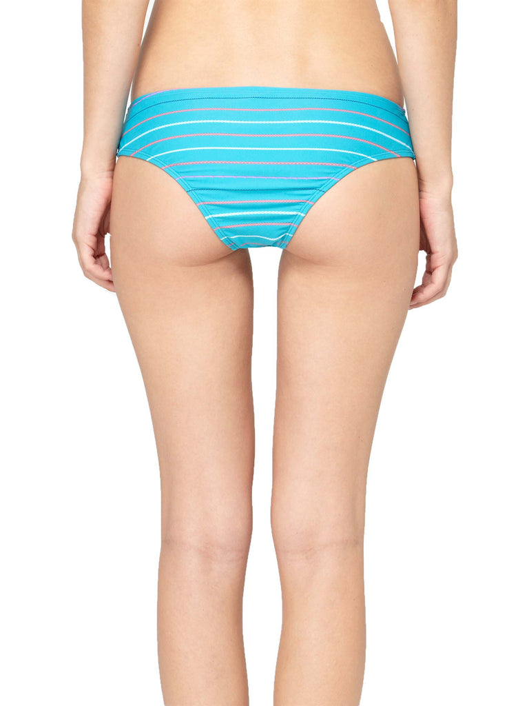 Roxy Juniors Love And sunshine Cheeky Brief Bikini Bottoms-Turquoise