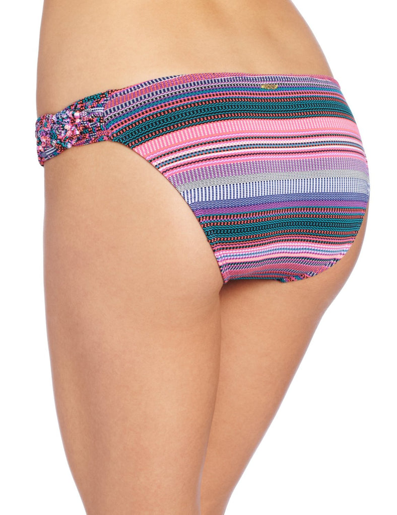 Roxy Juniors Coastal Switch 70s Brief Bikini Bottom-Hyacinth